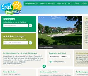 Spielplatznet.de erhält neues Design.