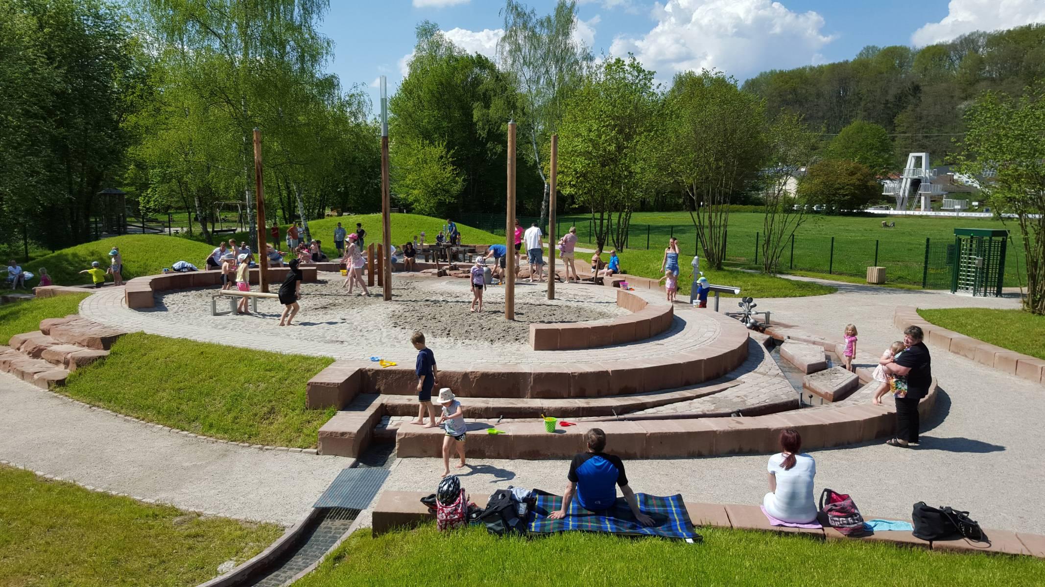 Wasserspielplatz Homburg