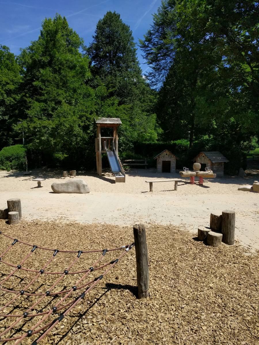 Wasserspielplatz Alter Botanischer Garten In Tübingen