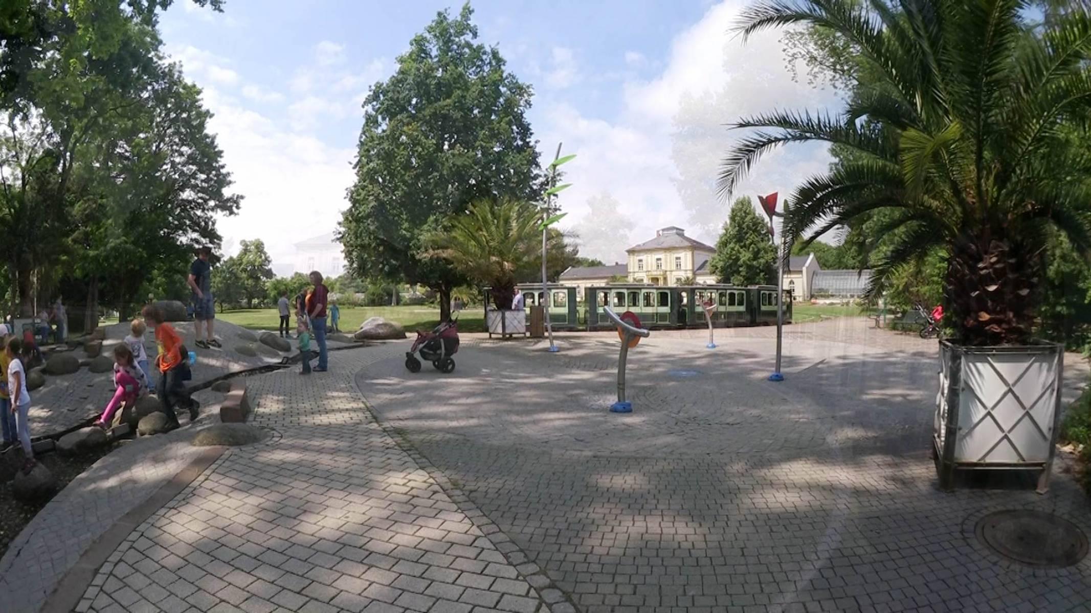 spielplatz palmengarten in frankfurt am main westend nord. Black Bedroom Furniture Sets. Home Design Ideas