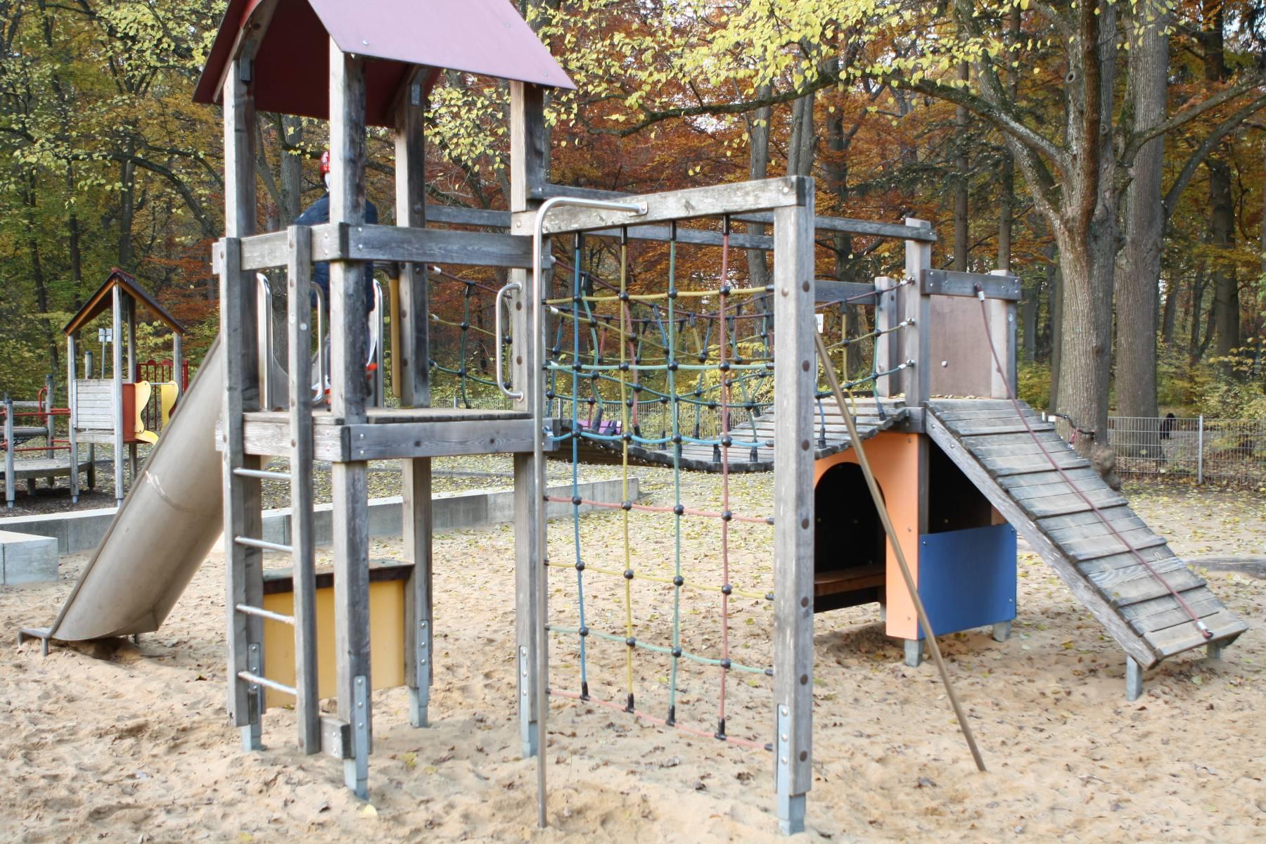 Spielplatz Parkhausl Spielplatz In Augsburg Spielplatznet De